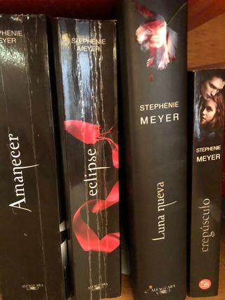 Colección libros Crepúsculo