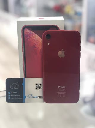 APPLE IPHONE XR ROJO 64GB