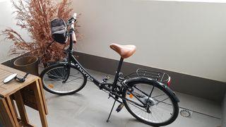 Bicicleta plegable como nueva