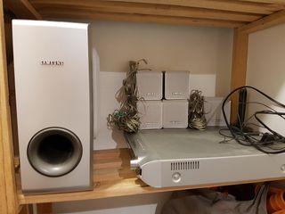 Reproductor DVD Samsung sonido 5.1