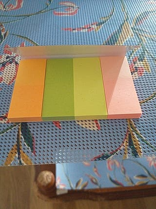 Post-its de colores