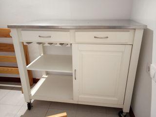 Mesa carro de cocina o terraza