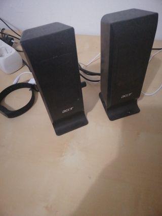 altavoces para ordenador y móvil