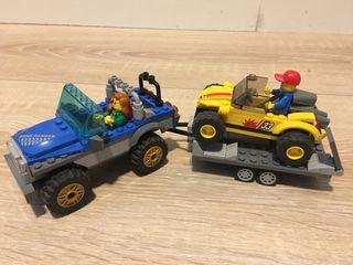 Coches con remolque Lego