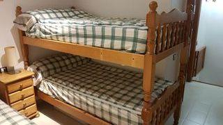 Litera y cama individual