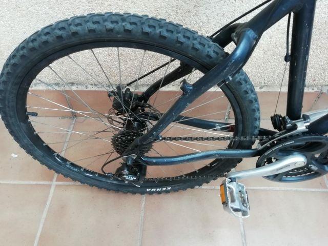 bicicleta freno disco
