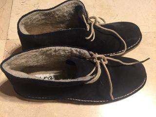 Zapatos azul marino talla 40