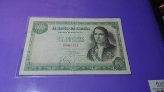 billete 1000 pesetas 1949