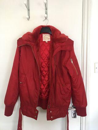 MANGO red jacket (used one time)