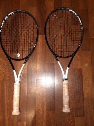 x2 Raquetas tenis HEAD Speed Graphene 360 MP