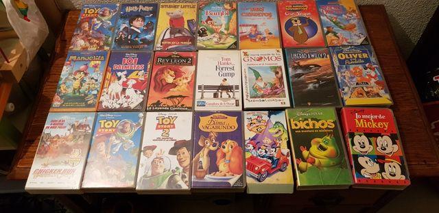 31 películas vhs