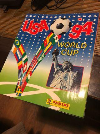 Álbum de cromos mundial USA 94