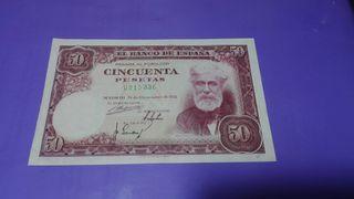 billete 50 pesetas 1951