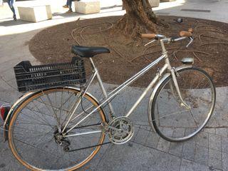 Bicicleta mujer vintage