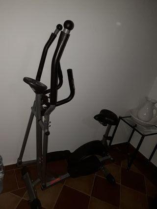 bicicleta y remos