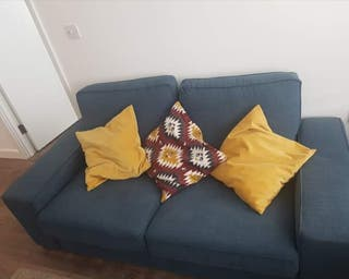 Two-seat IKEA sofa (cushions included)