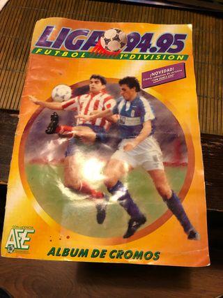 Album cromos liga 94-95