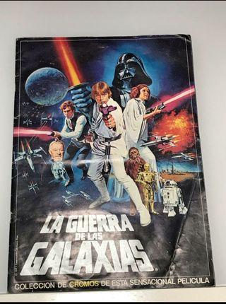 album de cromos La Guerra de las galaxias