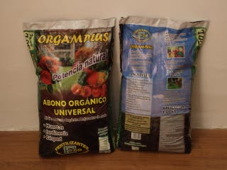 abono orgánico ecológico