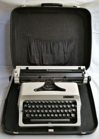 Máquina de escribir portátil ERIKA