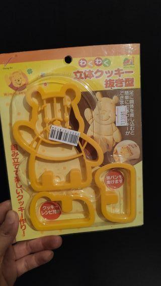 Cortador galletas 3d Winnie The Pooh