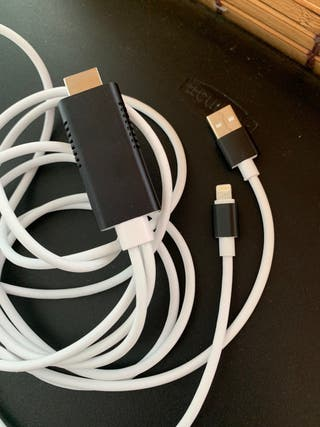 adaptador lightning a hdmi iPhone y iPad