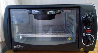 horno eléctrico de acero inoxidable