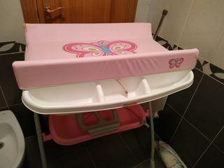 bañera cambiador prenatal