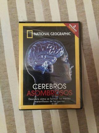 DVD Cerebros asombrosos National Geographic