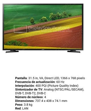 """32"""" HD Smart TV N4300 Series 4"""