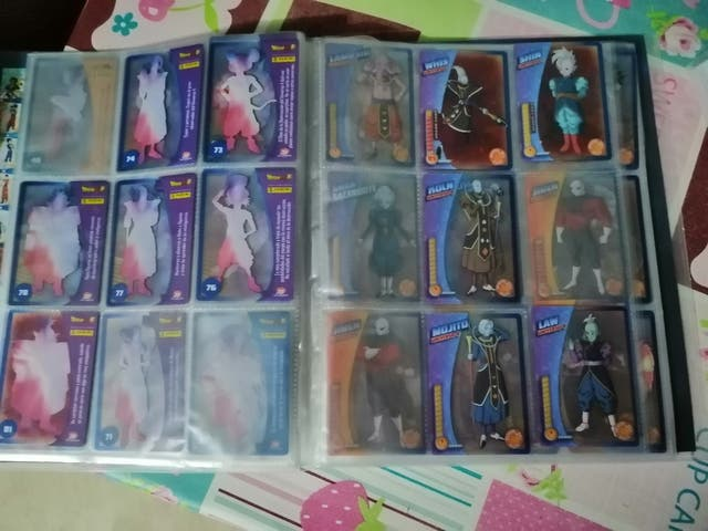 cambio y compro cromos DRAGON BALL SUPER