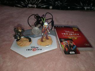 Juego plataforma y figuras Disney Infinity 3.0 PS3