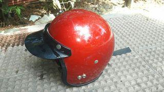 casco de moto vintage