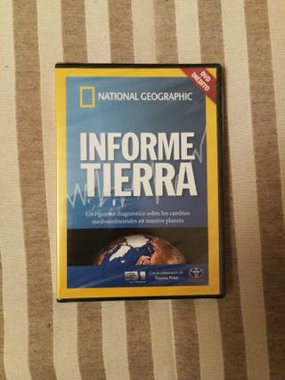 DVD Informe Tierra National Geographic