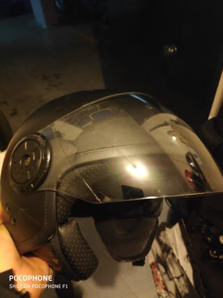 cascos moto jet