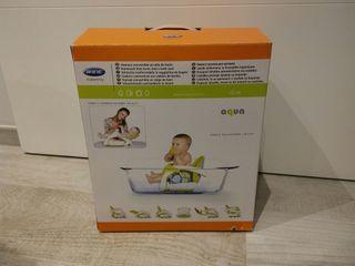 Hamaca convertible en Silla de baño