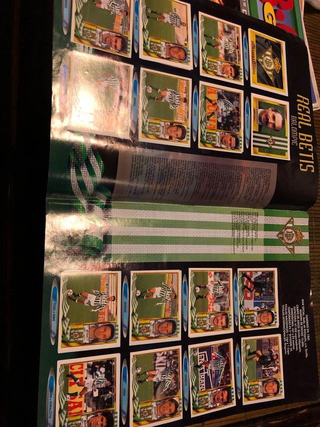 Álbum cromos liga 95-96