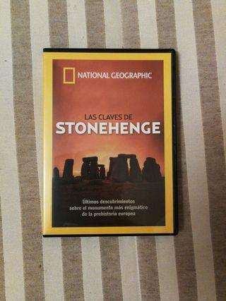 DVD Las claves de Stonehenge National Geographic