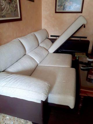Sofá chaise longue canapé
