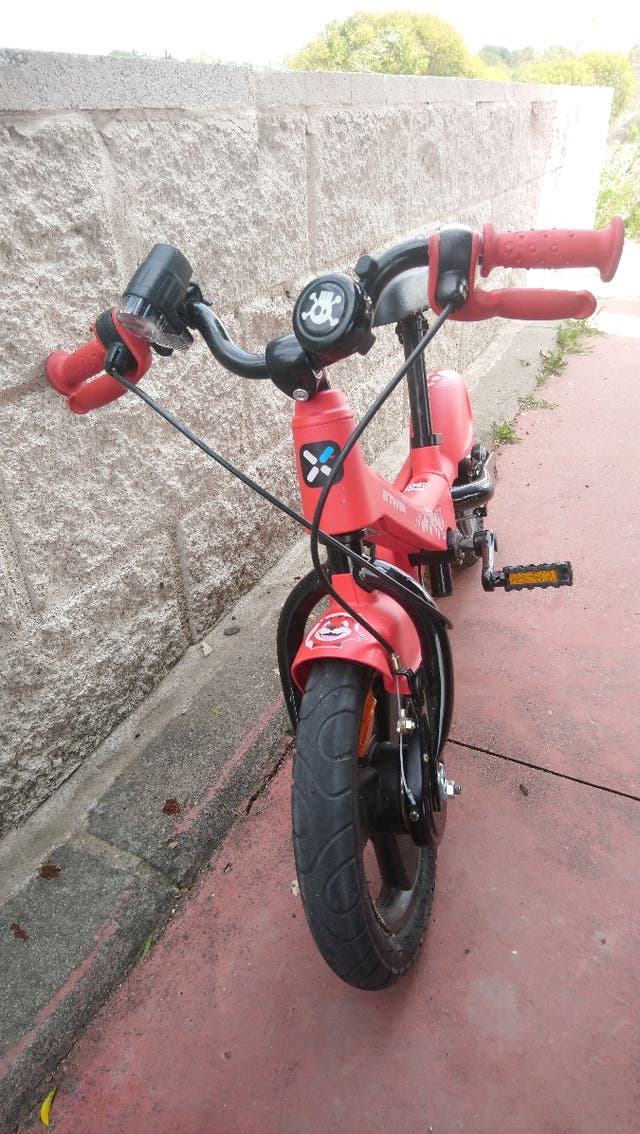 """bicicleta 12 """"niño con/sin pedales woony decathlon"""