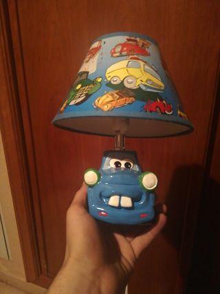 lámpara de coches infantil