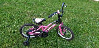 Bicicleta Monty niña