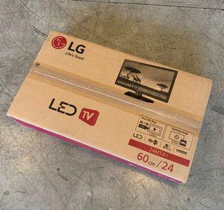 """TELEVISIÓN LED 24"""" LG nueva !!!"""