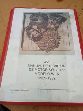 manual de taller Harley Davidson WLA