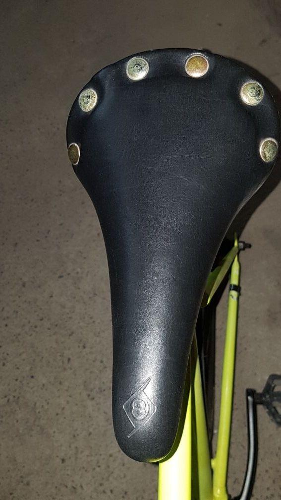 Bicicleta Fixie hecha a mano