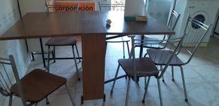 mubles de cocina mesa y 6 sillas
