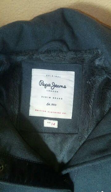 chaqueta paño PEPE JEANS 14 años