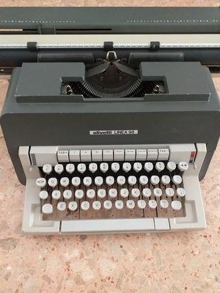 máquina escribir manual