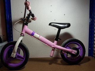 bicicleta sin pedales para niña