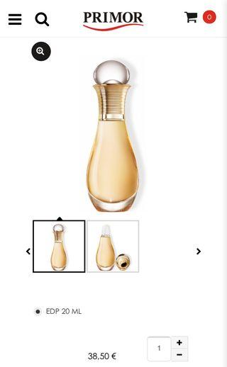 J'adore perle de parfum 20 ml